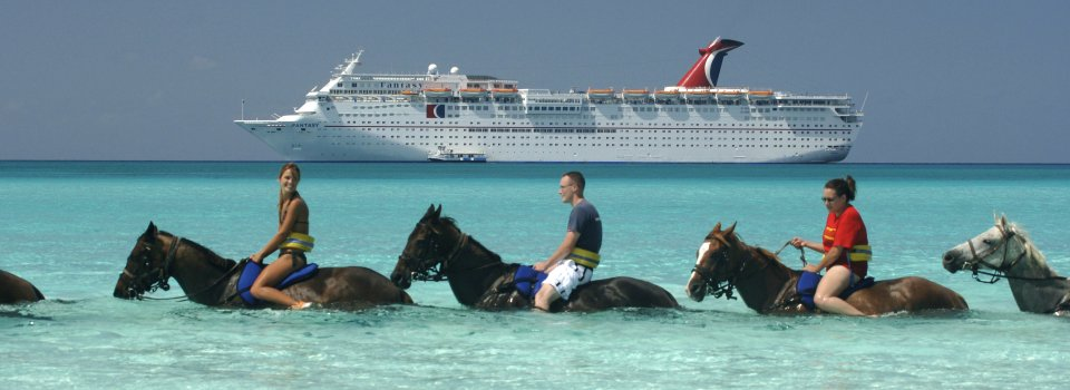 Carnival Cruise Horse Ride Excursion Caribbean